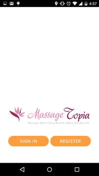 Massagetopia poster
