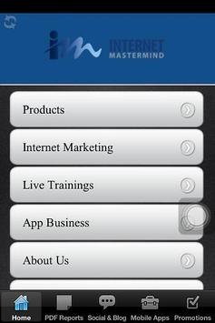 Internet Marketing Company App poster