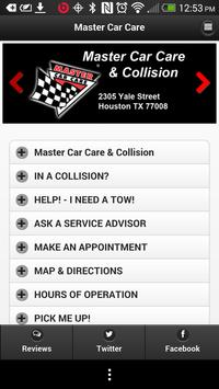 Master Car Care Houston poster
