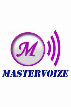 Mastervoiz poster