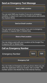 UrLocFinder(Emergency Message) apk screenshot
