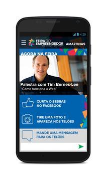 Feira do Empreendedor SebraeAM apk screenshot