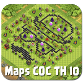 Map COC TH 10 icon