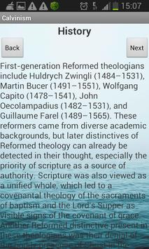 Calvinism apk screenshot