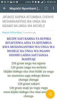 Mapishi Nyumbani apk screenshot