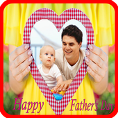 Father's day frame icon
