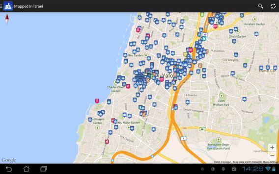 Mapped In Israel apk screenshot