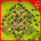 Maps of Clash Of Clans 2016 icon