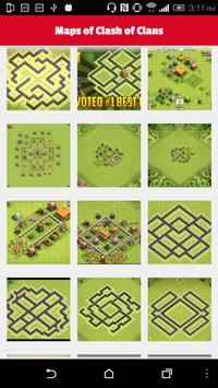 Maps of Clash Of Clans 2016 apk screenshot