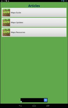 Maps for Minecraft PE 0.14.0 poster