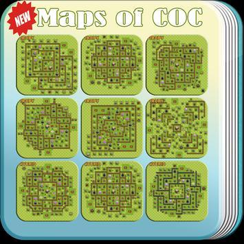 Maps of Clash Of Clans Offline apk screenshot