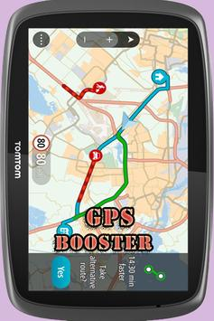 gps booster free poster