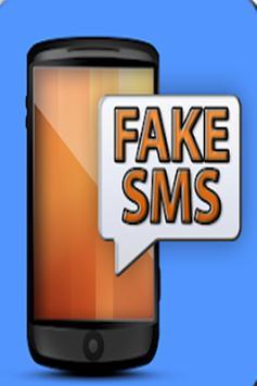 Fake Sms Receiving poster