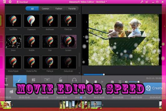 Movie Editor Speed apk screenshot