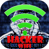 Wifi Password Hack Simulated icon