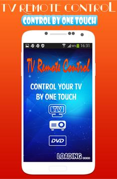 TV Remote IR Control Universal poster