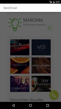 Maroma Diseño - Demo App apk screenshot