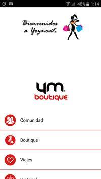 Yozmont Boutique poster