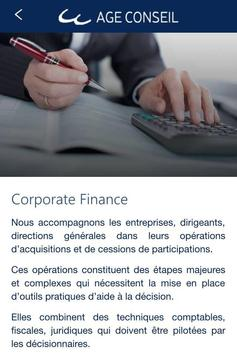 AGE CONSEIL poster