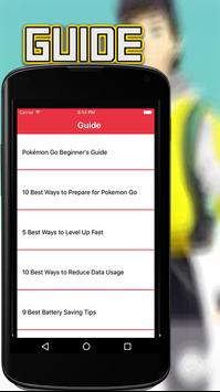Guide for Pokemon Go poster
