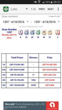 Lebanese Lottery poster