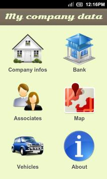 My company data poster