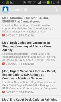 MaritimeJobs apk screenshot