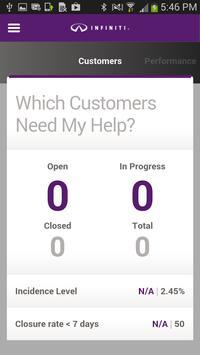 Infiniti Customer Voice poster