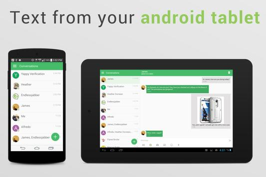 Yappy - SMS on PC & Tablet apk screenshot