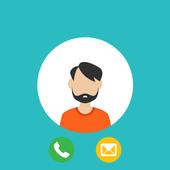 اخفاء رقمك عند المتصل - prank icon