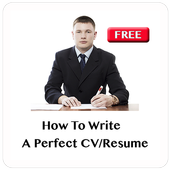 How To Write A CV icon