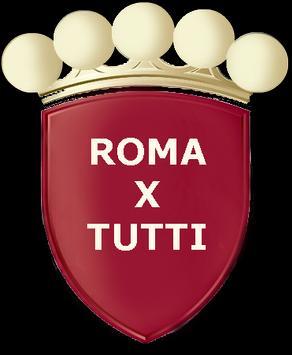 Roma x Tutti poster