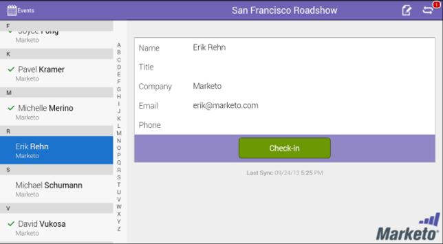 Marketo Events apk screenshot
