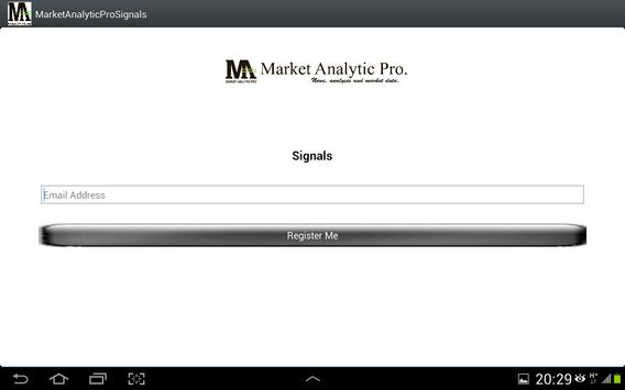 Market Analytic Pro Signals apk screenshot