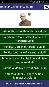 Narendra Modi Biography apk screenshot