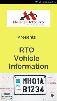 RTO Vehicle Info poster