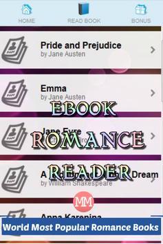 Ebook Romance Reader apk screenshot