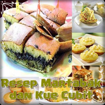Resep Martabak & Kue Cubit poster