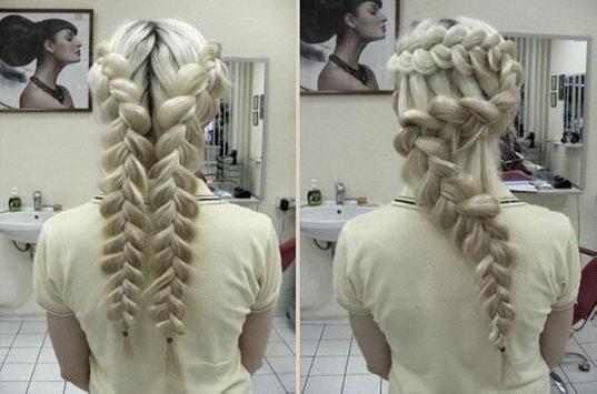 Peinados con trenzas HD apk screenshot