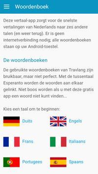 Woordenboek - 6 talen vertalen poster