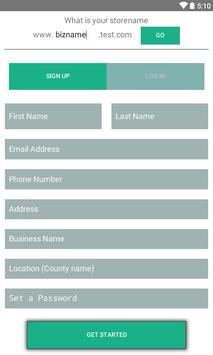 Point of Sale Android ERP apk screenshot