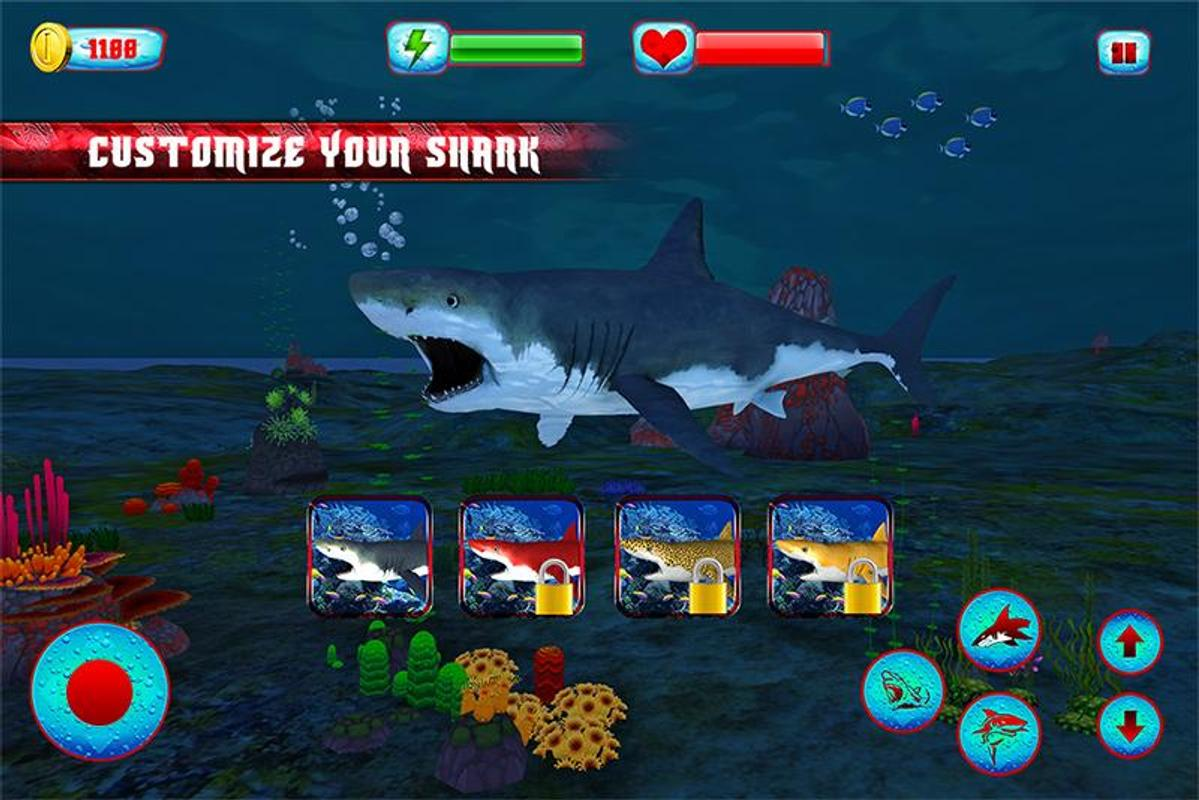 blue angry shark apk simulation game for blue angry shark 2016 apk screenshot