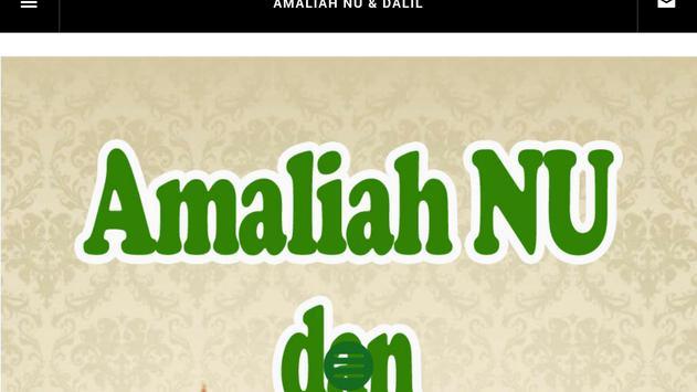 Amaliah NU dan Dalilnya apk screenshot