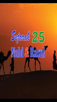Sejarah 25 Nabi dan Rasul poster