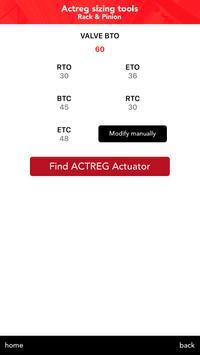 Actreg actuators apk screenshot