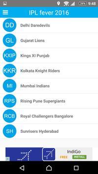 IPL Fever 2016 apk screenshot