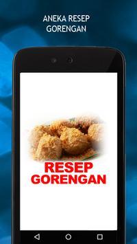 Aneka Resep Gorengan poster