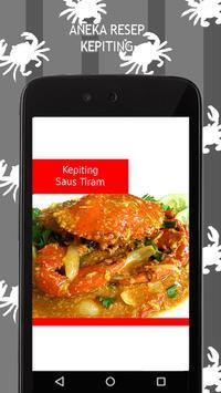 Aneka Resep Kepiting apk screenshot