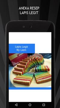 Aneka Resep Kue Lapis Legit apk screenshot