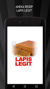 Aneka Resep Kue Lapis Legit poster